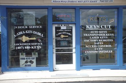 Apopka S Locksmith Auto Remotes Safe Showroom